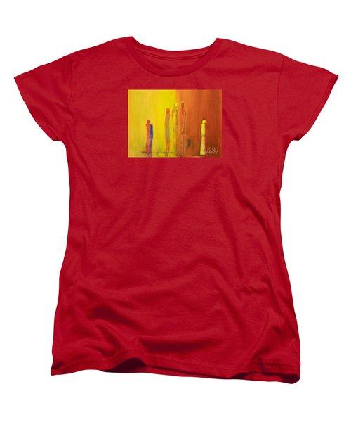The Conversation Women's T-Shirt (Standard Cut) by Gallery Messina