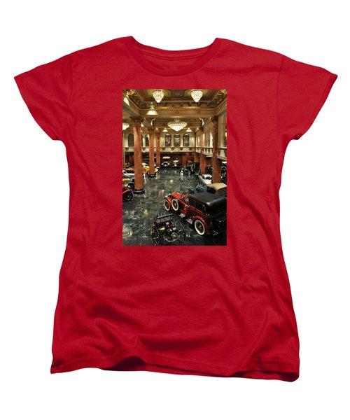 Grand Salon At The Nethercutt Women's T-Shirt (Standard Cut) by Kyle Hanson