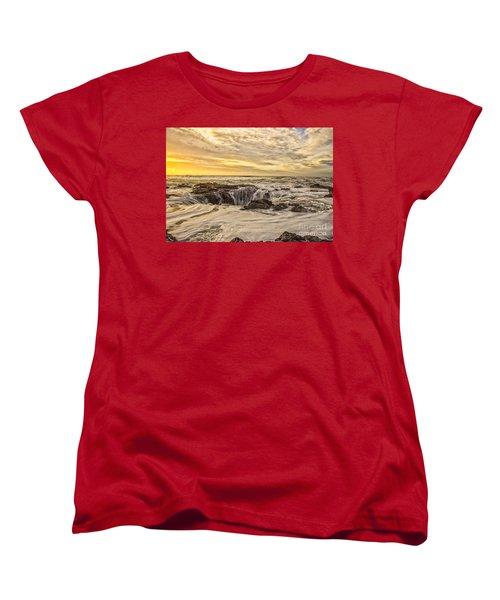 Thor's Well Women's T-Shirt (Standard Cut) by Billie-Jo Miller