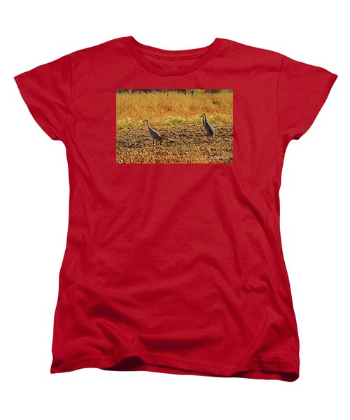 Women's T-Shirt (Standard Cut) featuring the photograph Three Amigos by Robert Bales