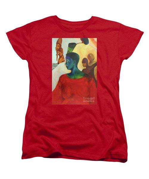 Trickster Women's T-Shirt (Standard Cut) by Daun Soden-Greene