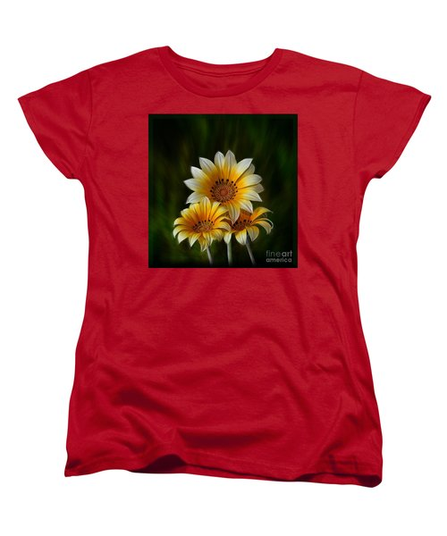 Triple Sunshine Women's T-Shirt (Standard Cut)