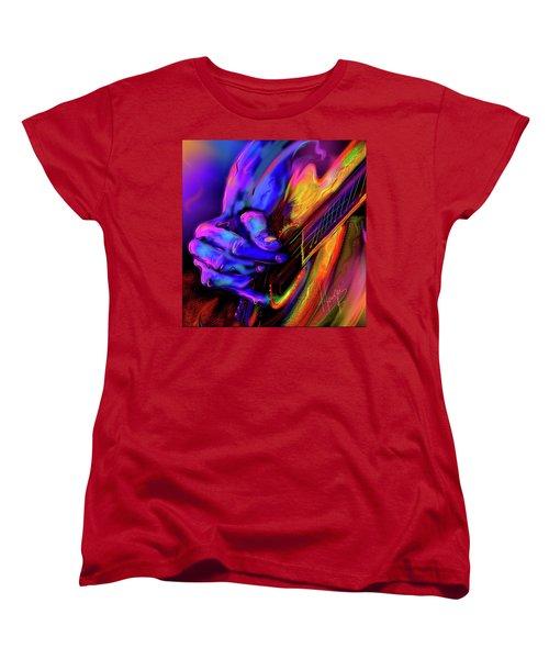 Unplugged Women's T-Shirt (Standard Cut) by DC Langer