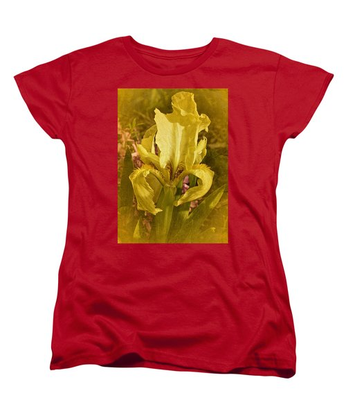 Vintage Dwarf Iris No. 2 Women's T-Shirt (Standard Cut) by Richard Cummings