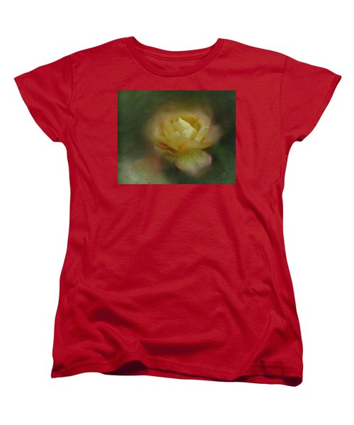Vintage October Rose  Women's T-Shirt (Standard Cut) by Richard Cummings
