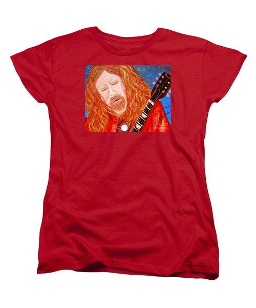 Warren Haynes Women's T-Shirt (Standard Cut) by Angela Murray
