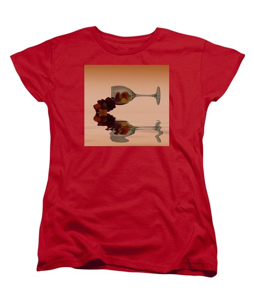 Women's T-Shirt (Standard Cut) featuring the photograph Wine Gums Sweets by David French