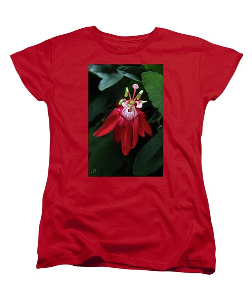 Women's T-Shirt (Standard Cut) featuring the photograph With Passion by Geri Glavis
