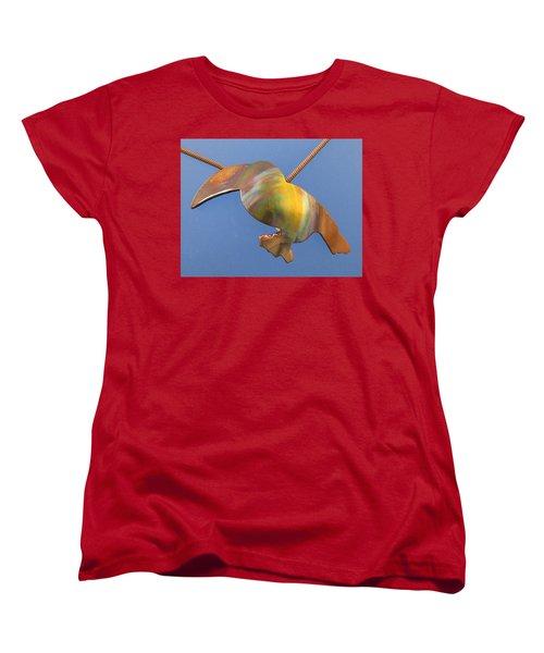 1243 Toucan Women's T-Shirt (Standard Cut) by Dianne Brooks
