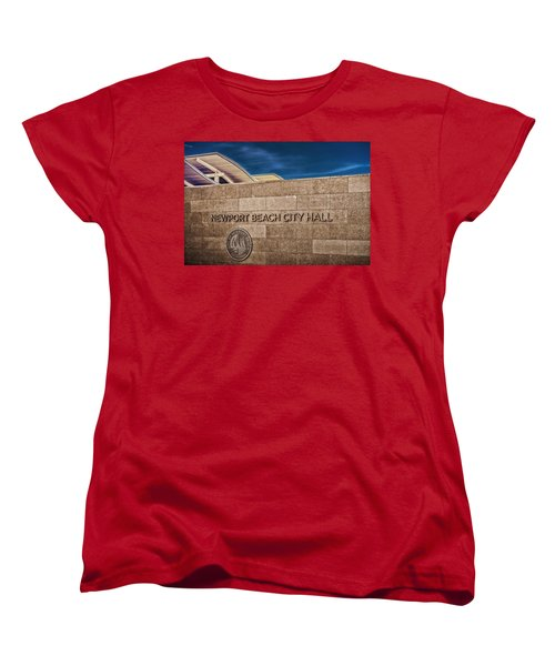 Women's T-Shirt (Standard Cut) featuring the photograph 135 To 237 Million Dollars Give Or Take by TC Morgan