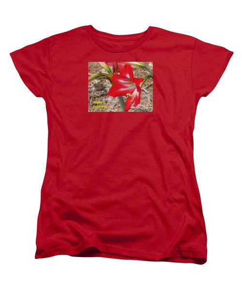 Women's T-Shirt (Standard Cut) featuring the photograph Christmas Card by Rod Ismay