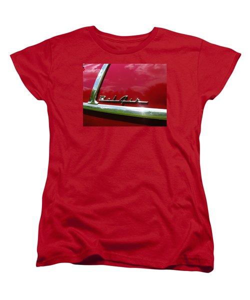 1955 Belair Women's T-Shirt (Standard Cut) by Sherman Perry