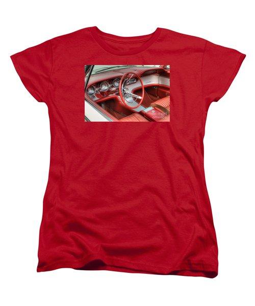 1962 Thunderbird Dash Women's T-Shirt (Standard Cut) by Jerry Fornarotto