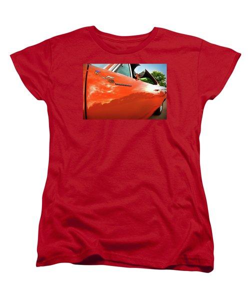 1969 Plymouth Road Runner 440 Roadrunner Women's T-Shirt (Standard Cut) by Gordon Dean II
