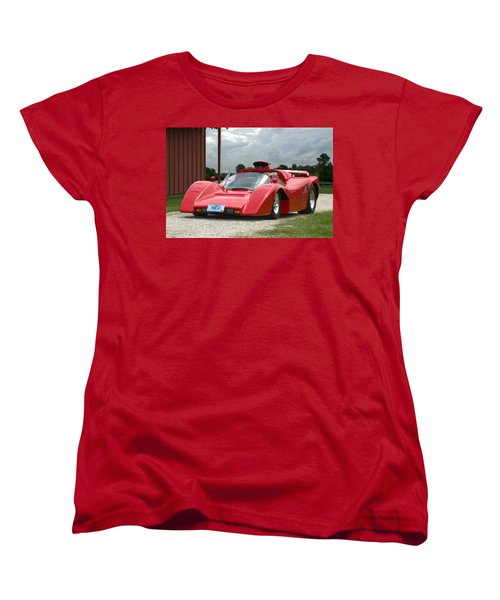 1974 Manta Mirage With Buick 215 Cubic Inch V8 Women's T-Shirt (Standard Cut) by Tim McCullough