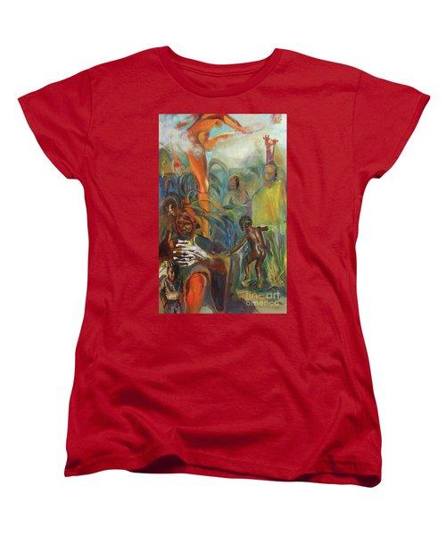 Ancestor Dance Women's T-Shirt (Standard Cut) by Daun Soden-Greene