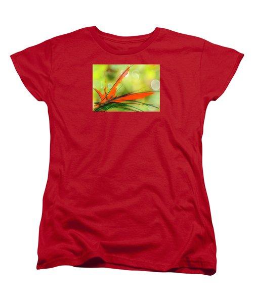 Bird Of Paradise 2 Women's T-Shirt (Standard Cut) by Kume Bryant