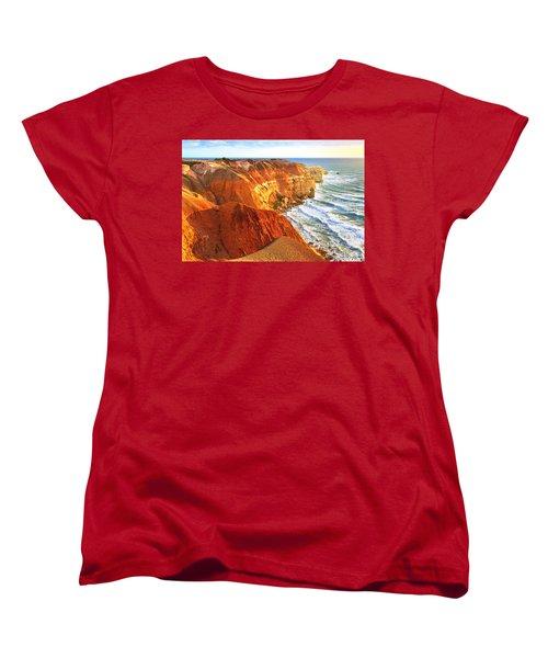 Women's T-Shirt (Standard Cut) featuring the photograph Blanche Point by Bill  Robinson