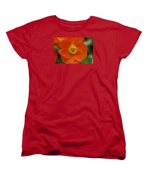 Women's T-Shirt (Standard Cut) featuring the photograph Poppy by Heidi Poulin
