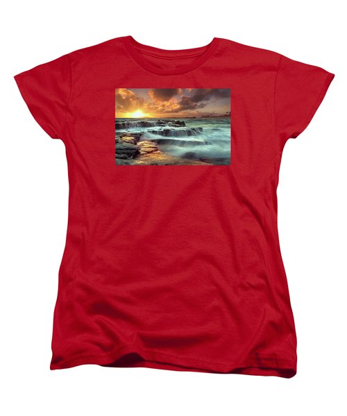 The Golden Hour Women's T-Shirt (Standard Cut) by James Roemmling