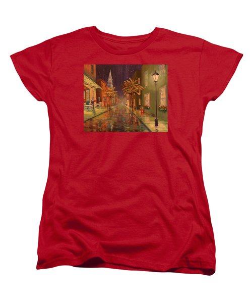 24 Hour Delivery Women's T-Shirt (Standard Cut) by Dorothy Allston Rogers