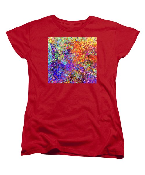 Abstract Composition Women's T-Shirt (Standard Cut) by Samiran Sarkar