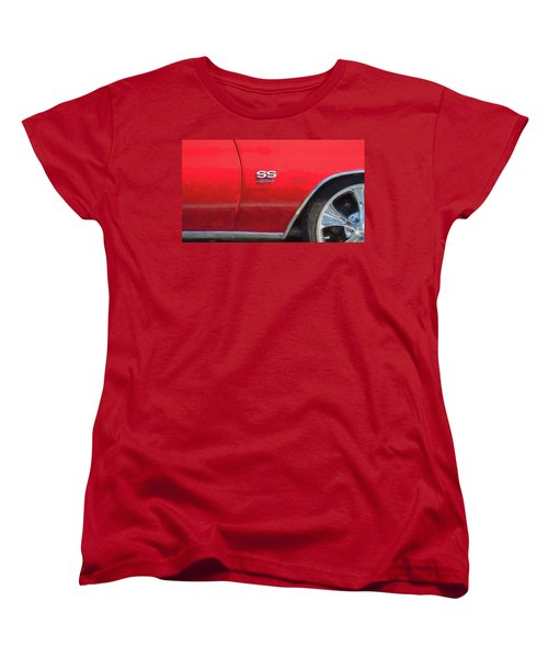1970 Chevy Chevelle 454 Ss  Women's T-Shirt (Standard Cut) by Rich Franco