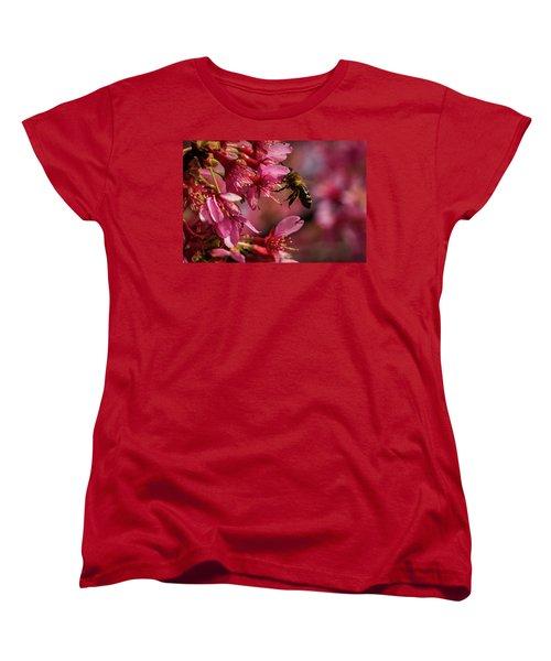 Bee Women's T-Shirt (Standard Cut) by Jay Stockhaus