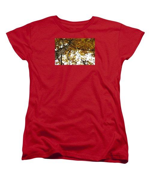 Women's T-Shirt (Standard Cut) featuring the photograph Fall by Heidi Poulin