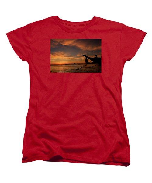 Koh Tao Island In Thailand Women's T-Shirt (Standard Cut) by Tamara Sushko