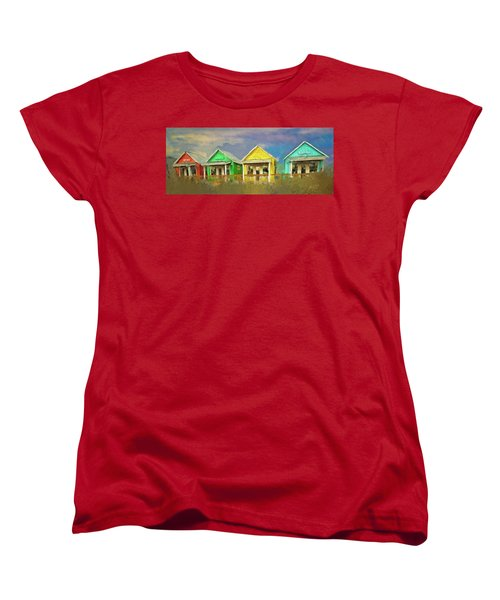 4 Of A Kind Women's T-Shirt (Standard Cut) by Dale Stillman