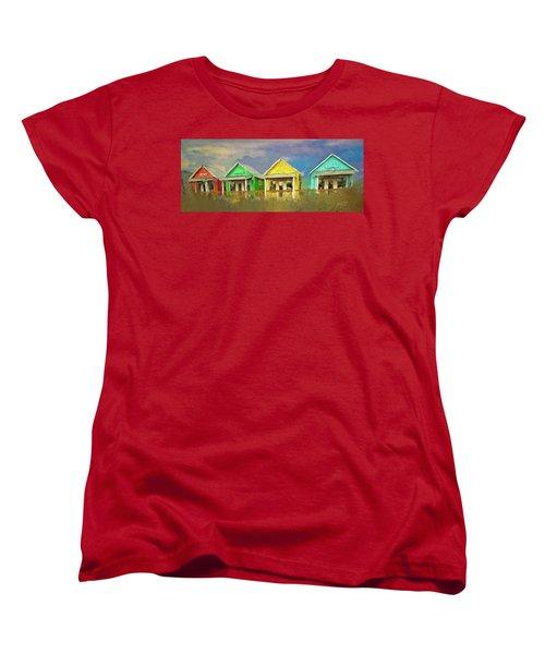 4 Of A Kind Women's T-Shirt (Standard Cut)