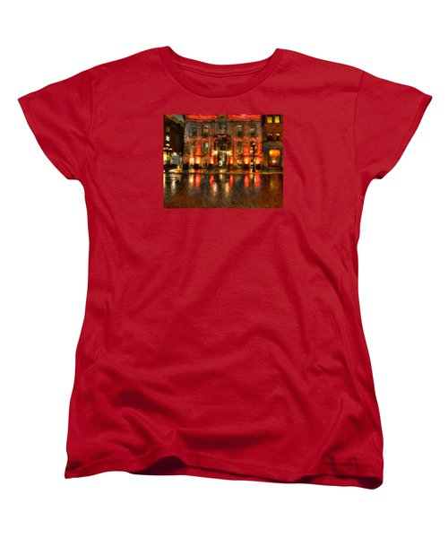 Street Reflections Women's T-Shirt (Standard Cut) by Andre Faubert