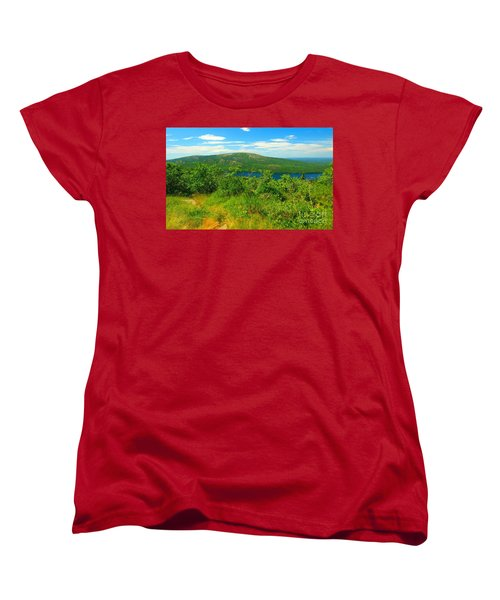 White Mountain's  Women's T-Shirt (Standard Cut) by Raymond Earley