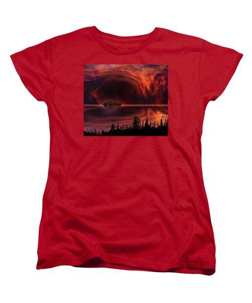 Women's T-Shirt (Standard Cut) featuring the photograph 4385 by Peter Holme III