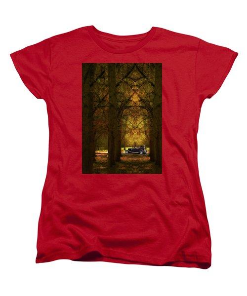 Women's T-Shirt (Standard Cut) featuring the photograph 4390 by Peter Holme III