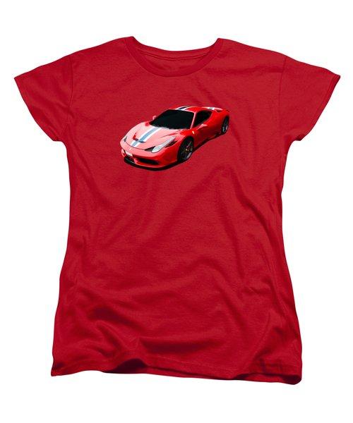 458 Speciale Women's T-Shirt (Standard Cut) by Roger Lighterness