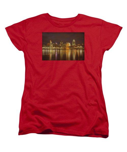 Cincinnati, Ohio Women's T-Shirt (Standard Cut) by Scott Meyer