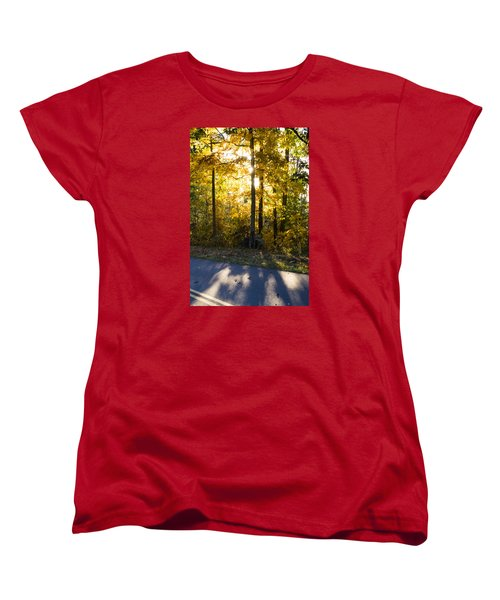 Women's T-Shirt (Standard Cut) featuring the photograph Fall Color Virginia West Virginia by Kevin Blackburn