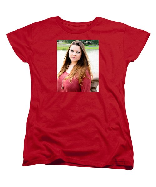Women's T-Shirt (Standard Cut) featuring the photograph 5601-2 by Teresa Blanton