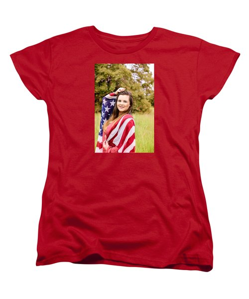 Women's T-Shirt (Standard Cut) featuring the photograph 5631-2 by Teresa Blanton