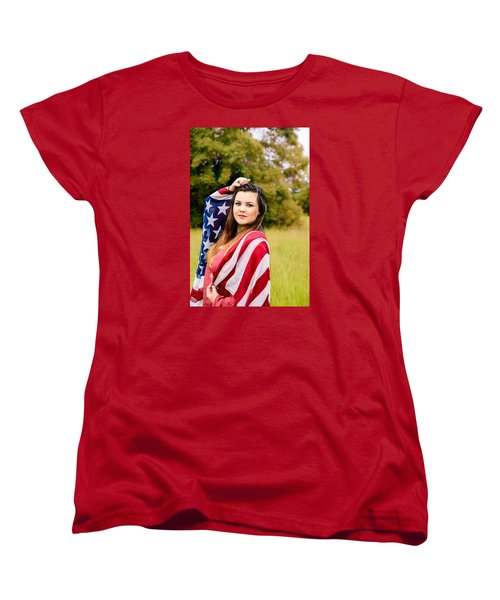Women's T-Shirt (Standard Cut) featuring the photograph 5633 by Teresa Blanton