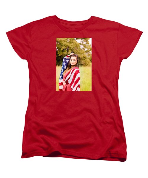Women's T-Shirt (Standard Cut) featuring the photograph 5635-2 by Teresa Blanton