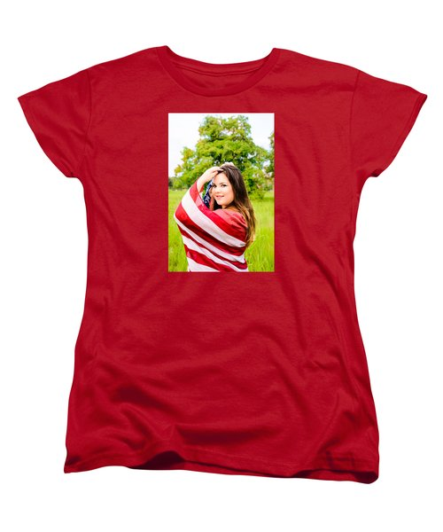 Women's T-Shirt (Standard Cut) featuring the photograph 5654-2 by Teresa Blanton