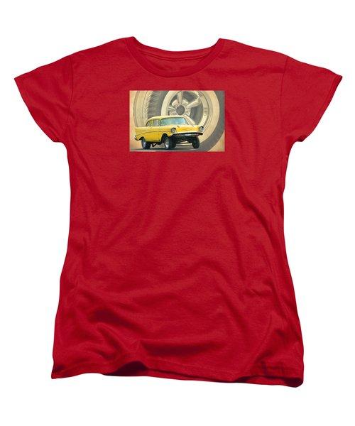 57 Gasser Women's T-Shirt (Standard Cut) by Steve McKinzie