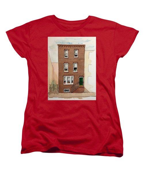 615 South Delhi St. Women's T-Shirt (Standard Cut) by William Renzulli