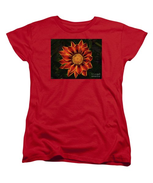 Women's T-Shirt (Standard Cut) featuring the photograph Beautiful Gazania by Elvira Ladocki