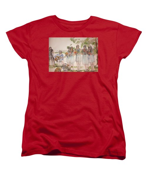 The Wedding Album  Women's T-Shirt (Standard Cut) by Debbi Saccomanno Chan