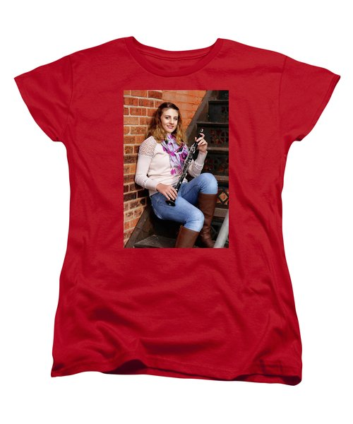 9g5a9481_e_pp Women's T-Shirt (Standard Cut) by Sylvia Thornton