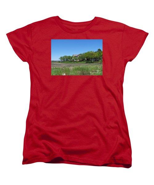 Women's T-Shirt (Standard Cut) featuring the photograph A Beautiful Day by Carol  Bradley